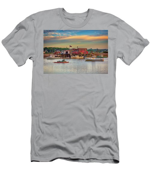 Men's T-Shirt (Athletic Fit) featuring the photograph Lobsters by Rick Berk