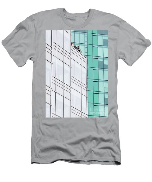 Men's T-Shirt (Slim Fit) featuring the photograph Lofty View by Chris Dutton