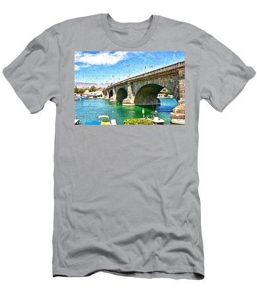 London Bridge In Arizona Men's T-Shirt (Athletic Fit)