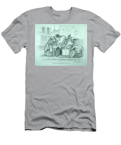 London Coffee Stall Men's T-Shirt (Athletic Fit)