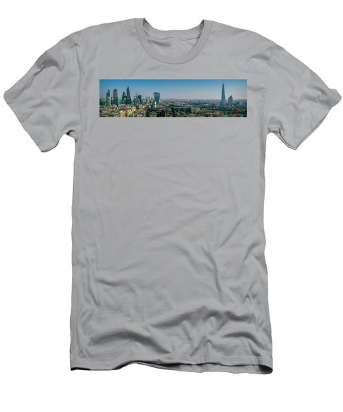 Men's T-Shirt (Athletic Fit) featuring the photograph London Skyline by Stewart Marsden