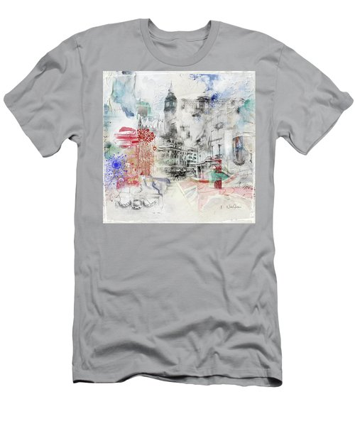 London Study Men's T-Shirt (Slim Fit) by Nicky Jameson