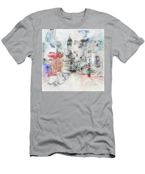 London Study Men's T-Shirt (Athletic Fit)