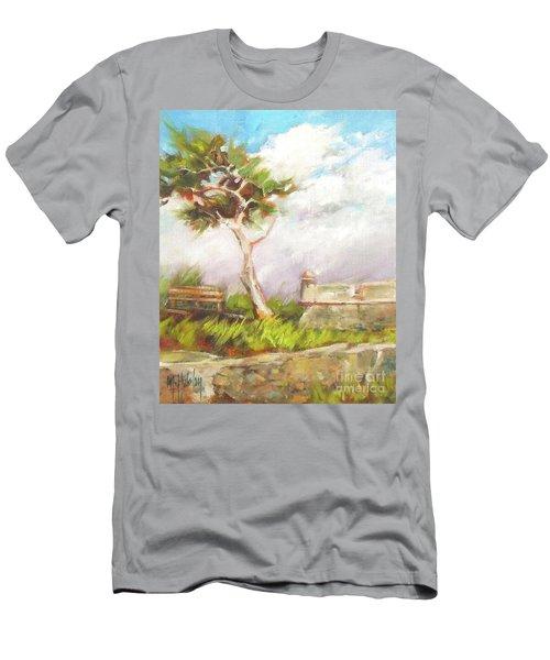 Lone Cedar Men's T-Shirt (Slim Fit) by Mary Hubley