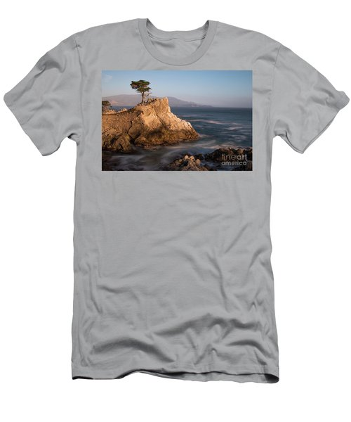 lone Cypress Tree Men's T-Shirt (Athletic Fit)