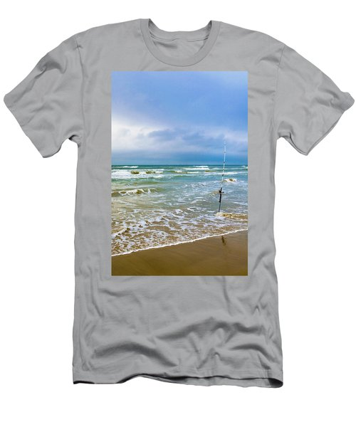 Lone Fishing Pole Men's T-Shirt (Athletic Fit)