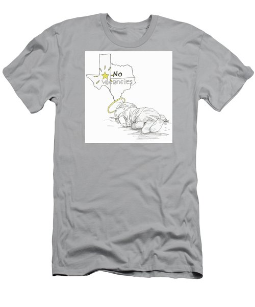 Lone Star State Of Fear Men's T-Shirt (Slim Fit) by Steve Hunter