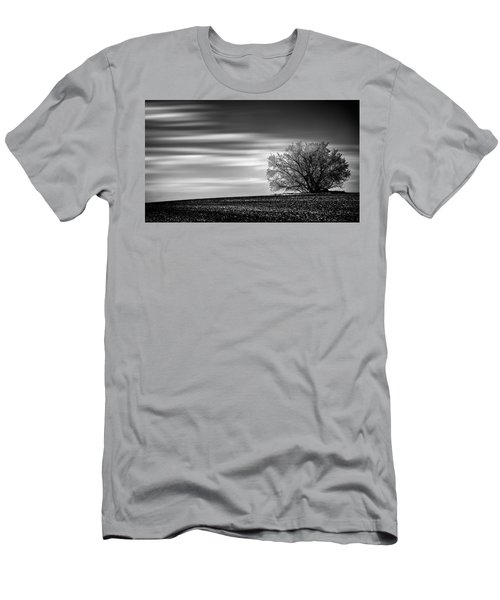 Men's T-Shirt (Slim Fit) featuring the photograph Lone Tree by Dan Jurak