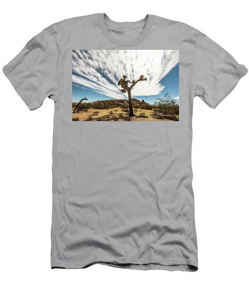 Lonely Joshua Tree Men's T-Shirt (Slim Fit) by Amyn Nasser