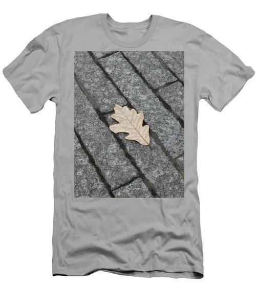 Lonely Leaf Men's T-Shirt (Athletic Fit)