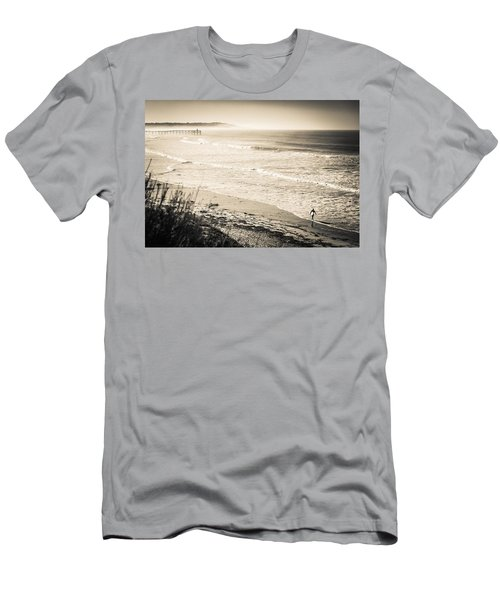 Lonely Pb Surf Men's T-Shirt (Athletic Fit)