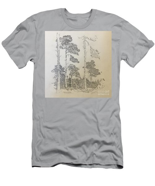 Lonely Pines Men's T-Shirt (Athletic Fit)