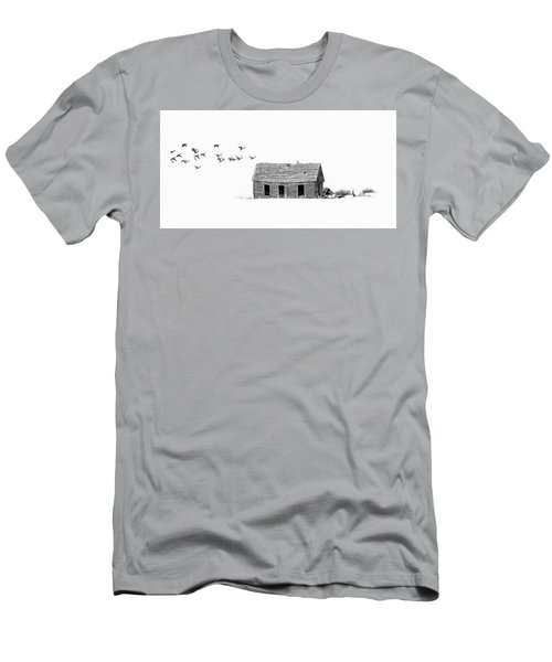 Lonesome But Peaceful Men's T-Shirt (Athletic Fit)