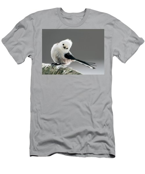 Charming Long-tailed Look Men's T-Shirt (Athletic Fit)