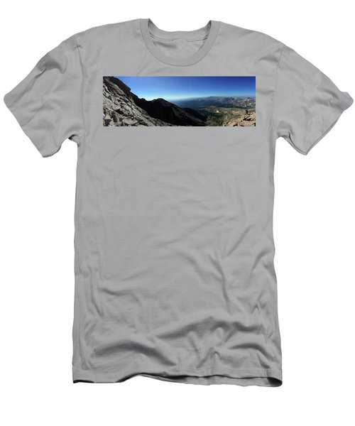 Longs Peak West Men's T-Shirt (Athletic Fit)