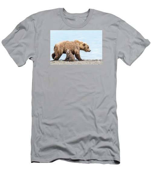 Look Mom Men's T-Shirt (Athletic Fit)