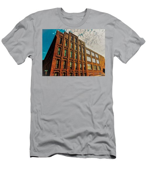 Look Up In The Sky Too Men's T-Shirt (Athletic Fit)