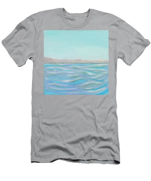 Looking South Tryptic Part 1 Men's T-Shirt (Athletic Fit)