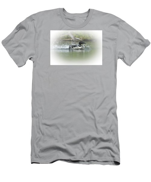Loon 6 Men's T-Shirt (Athletic Fit)