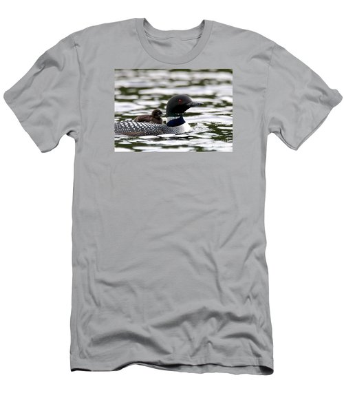 Loon Chick Men's T-Shirt (Athletic Fit)