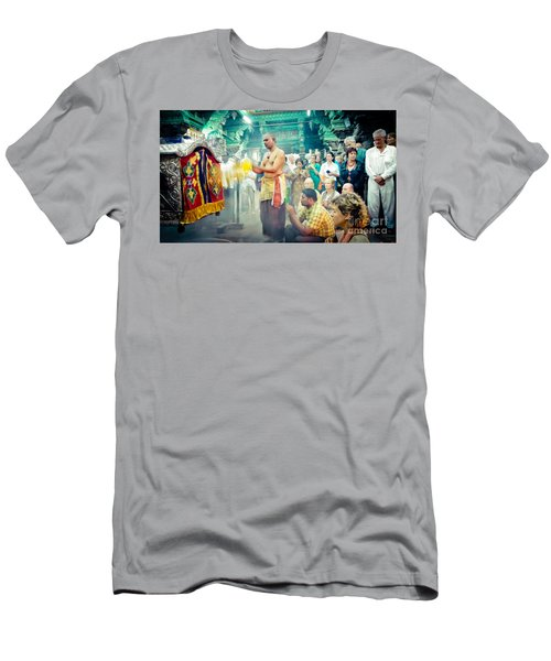 Lord Shiva Meenakshi Temple Madurai India Men's T-Shirt (Athletic Fit)