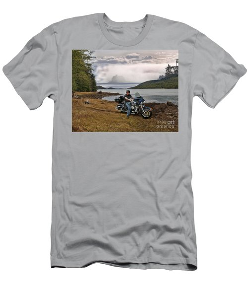Lost At Sea Men's T-Shirt (Athletic Fit)