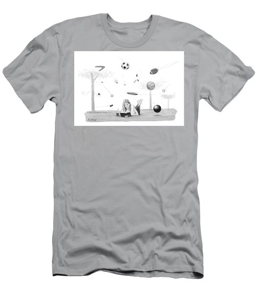 Lost In A Book Men's T-Shirt (Athletic Fit)
