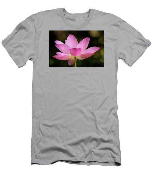 Lotus At The National Zoo Men's T-Shirt (Athletic Fit)