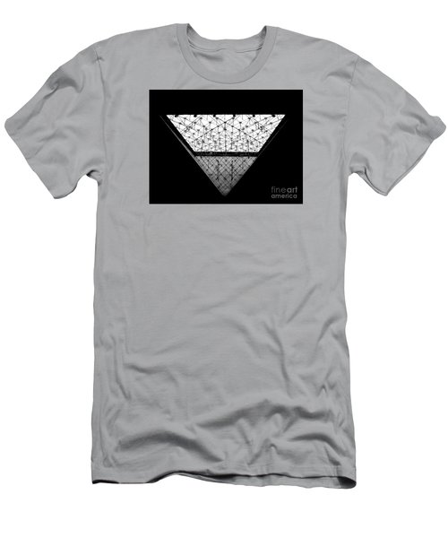 Lourve Pyramid Men's T-Shirt (Slim Fit) by Amar Sheow