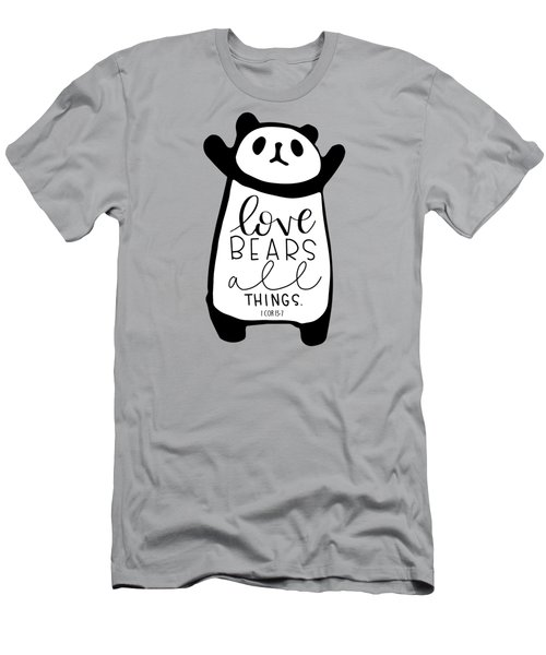 Love Bears All Things Men's T-Shirt (Athletic Fit)