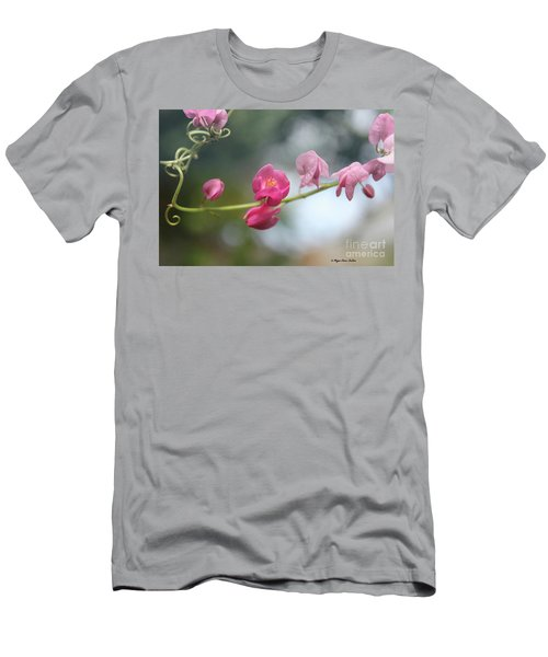 Men's T-Shirt (Athletic Fit) featuring the photograph Love Chain2 by Megan Dirsa-DuBois