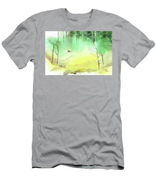 Lovebirds 3 Men's T-Shirt (Athletic Fit)