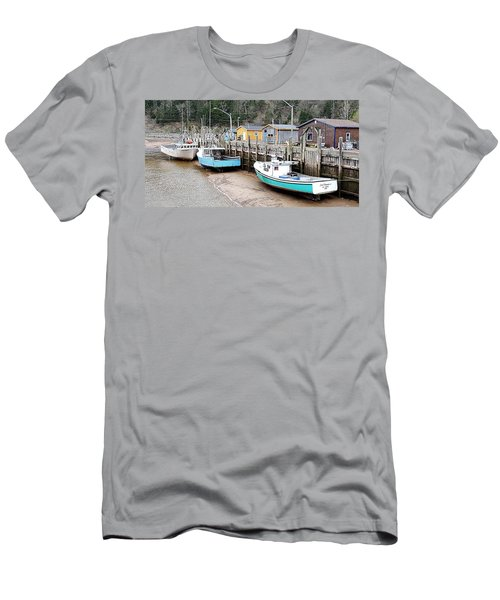Low Tide In St. Martins Men's T-Shirt (Athletic Fit)