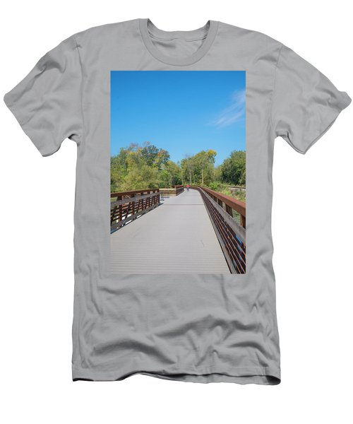 Lower Yahara River Trail 5 - Madison - Wisconsin Men's T-Shirt (Athletic Fit)