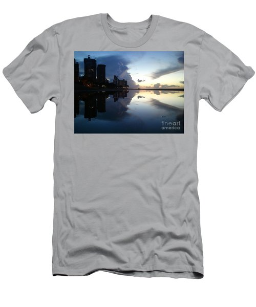 Loyda's Point Of View Men's T-Shirt (Slim Fit) by Reina Resto