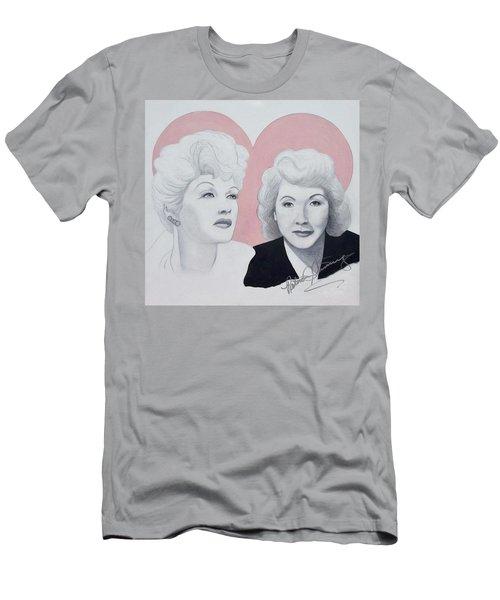 Lucille And Vivian Men's T-Shirt (Athletic Fit)