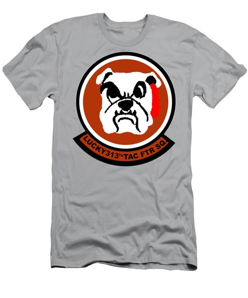 Lucky 313th Tac Ftr Sq Men's T-Shirt (Athletic Fit)