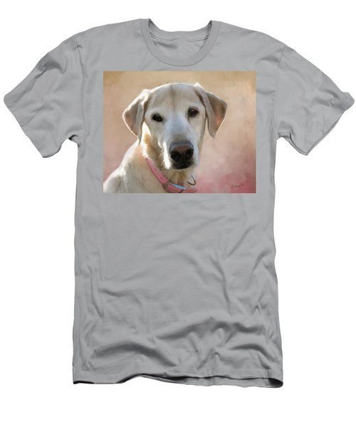 Lucy In Pink Men's T-Shirt (Athletic Fit)