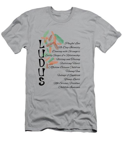 Ludus-playful Love. Men's T-Shirt (Athletic Fit)