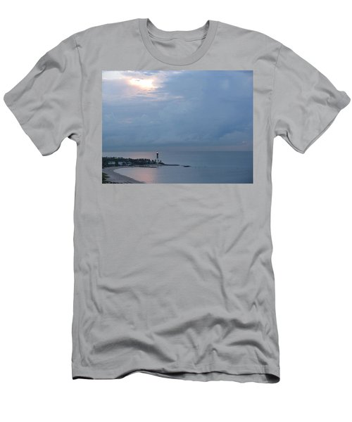 Luminous Lighthouse Men's T-Shirt (Athletic Fit)