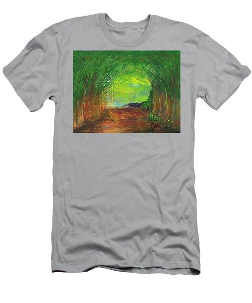 Luminous Path Men's T-Shirt (Athletic Fit)