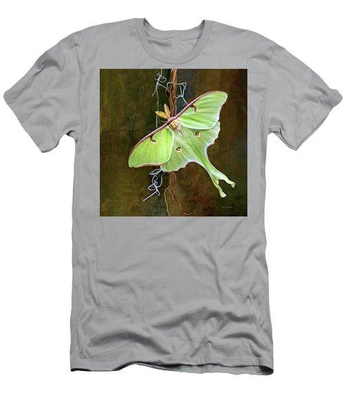Luna Moth Men's T-Shirt (Slim Fit) by Thanh Thuy Nguyen