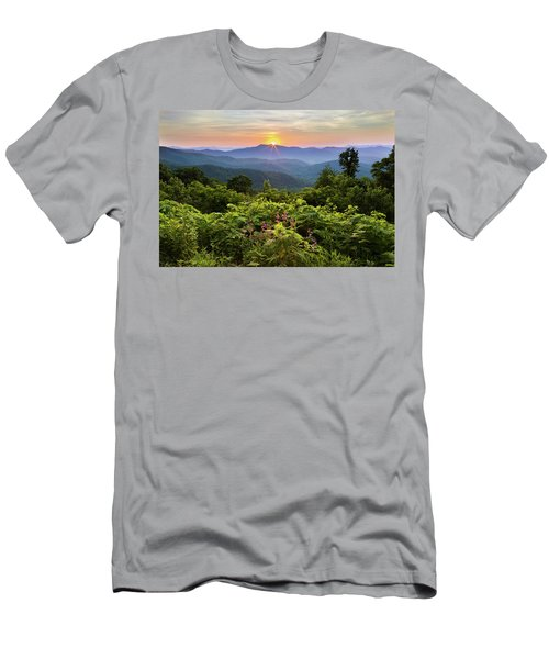 Lush Sunset In June Men's T-Shirt (Athletic Fit)