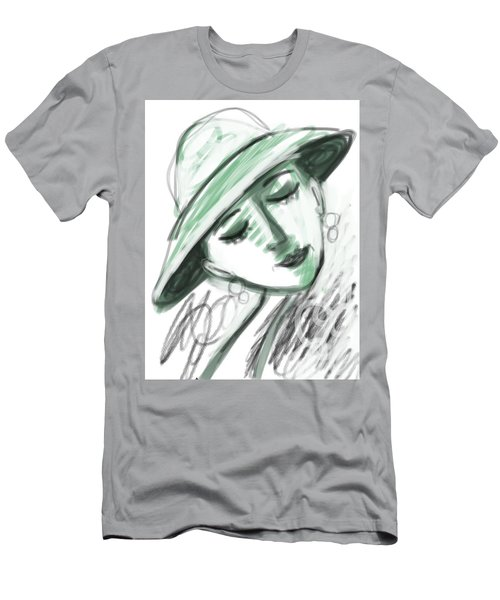 Lydia Men's T-Shirt (Slim Fit) by Elaine Lanoue