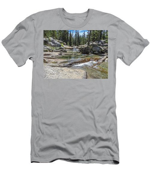 Lyell Fork Tuolomne River Yosemite National Park Men's T-Shirt (Athletic Fit)