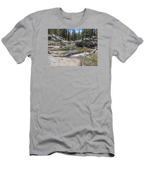 Lyell Fork Tuolomne River Yosemite National Park Men's T-Shirt (Athletic Fit)