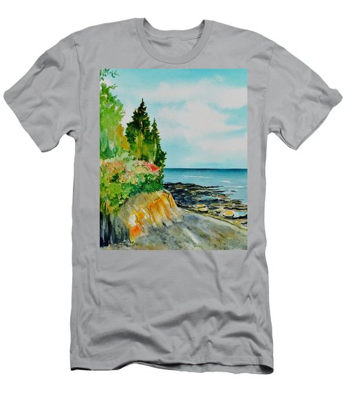 Mackworth Island Maine  Men's T-Shirt (Athletic Fit)