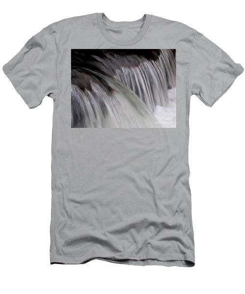 Macro Falls Men's T-Shirt (Athletic Fit)