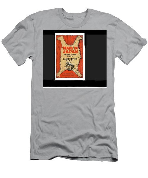 Made In Japan Propaganda Poster Circa 1944 Men's T-Shirt (Athletic Fit)