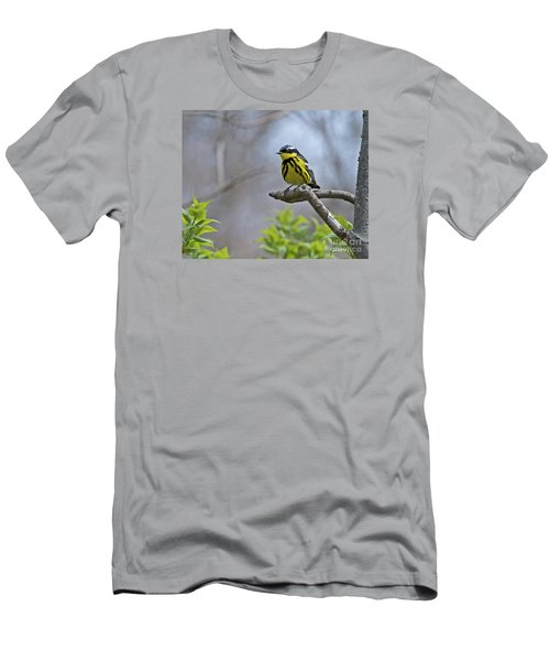 Maggie... Men's T-Shirt (Slim Fit) by Nina Stavlund